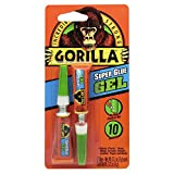Gorilla Super Glue Gel, 6 g, Clear