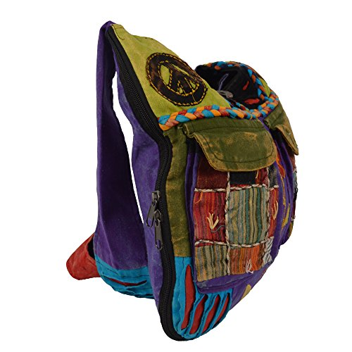 TATTOPANI Borse a tracolla, Multicolour (multicolore) - SF-BAG15