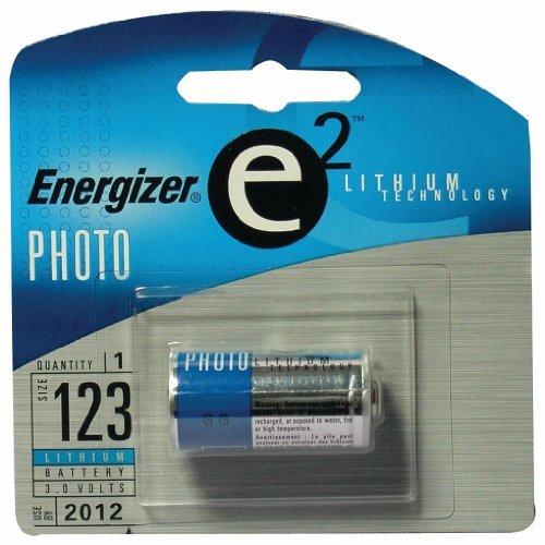 Energizer e2 Lithium Photo Battery, 123, 3V ()