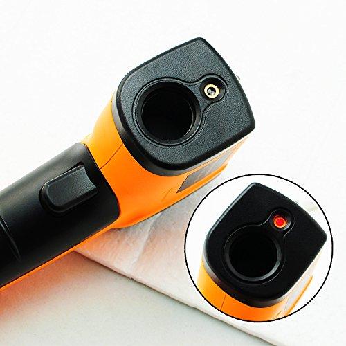 denshine Température numérique infrarouge IR Gun Thermomètre laser point à mesurer la température -50à 380& # x2103; (-58à 716°F)