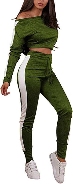 CIPOPO - Chándal - para Mujer Verde Verde S: Amazon.es: Ropa y ...