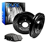 [REAR] Black Edition Cross-Drilled Brake Rotors & Semi-Met Brake Pad RBX.4406802