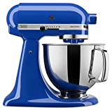kitchenaid mixer set - KitchenAid KSM150PSTB Artisan Series Stand Mixer with Pouring Shield, 5 quart, Twilight Blue