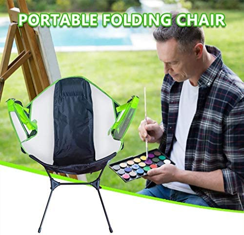 Folding Camp Chair,Ultralight High Back Camping Chair