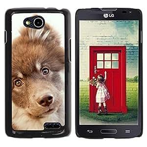 Be Good Phone Accessory // Dura Cáscara cubierta Protectora Caso Carcasa Funda de Protección para LG OPTIMUS L90 / D415 // Retriever Mutt Mongrel Hound Terrier