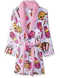 Shopkins Girls Original Collection Luxe Plush Robe Bathrobe