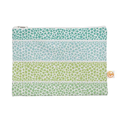 Kess eigene 12,5x 21,6cm Pom Graphic Design Zen Pebbles Alles-Tasche, Grün/Blaugrün