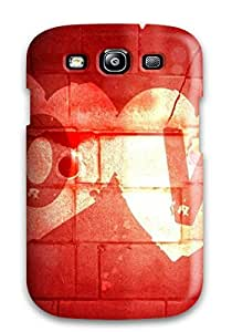 New 3d Love Text High Resolution For Computers Skin Case Compatible With Galaxy S3