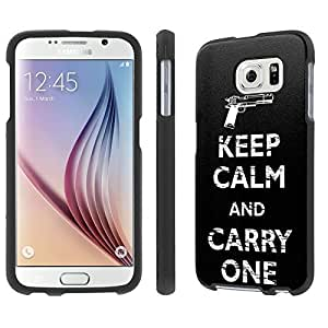 NakedShield Samsung Galaxy [S6] (Keep Calm and Carry One) Total Hard Armor LifeStyle Phone Case by ruishername