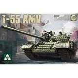Takom Model Kit - Soviet T-55 AMV Tank - 1:35 Scale - 2042