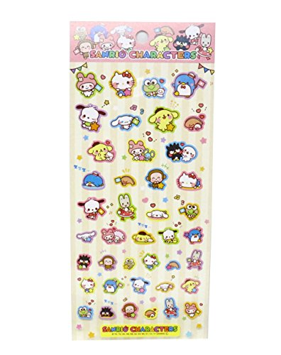 Sanrio Characters Stickers Sheet Japan Special from SANRIO