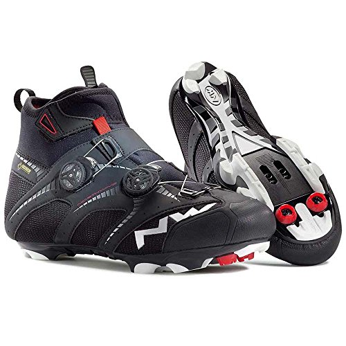 Northwave Men's Extreme Winter GTX M Winter Cycling Shoe - 80142016-10 (Black - 48) by Northwave