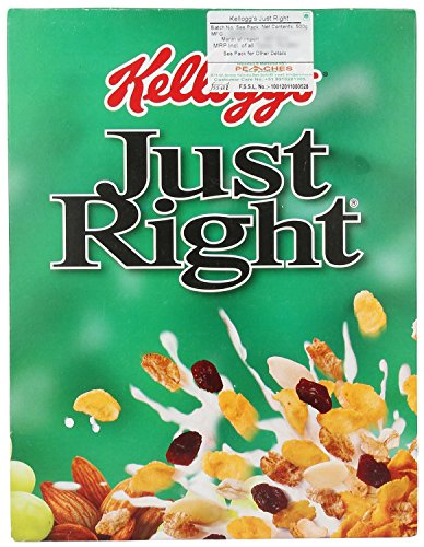 Kellogg's Just Right Cornflakes 500 G (Pack Of 5) by Kellogg's