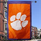 NCAA Clemson Tigers 28″ x 44″ Team Logo Applique Banner Flag