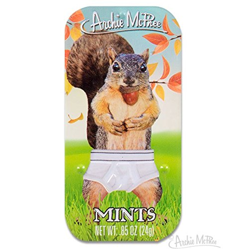 Archie McPhee Squirrel in Underpants Mints
