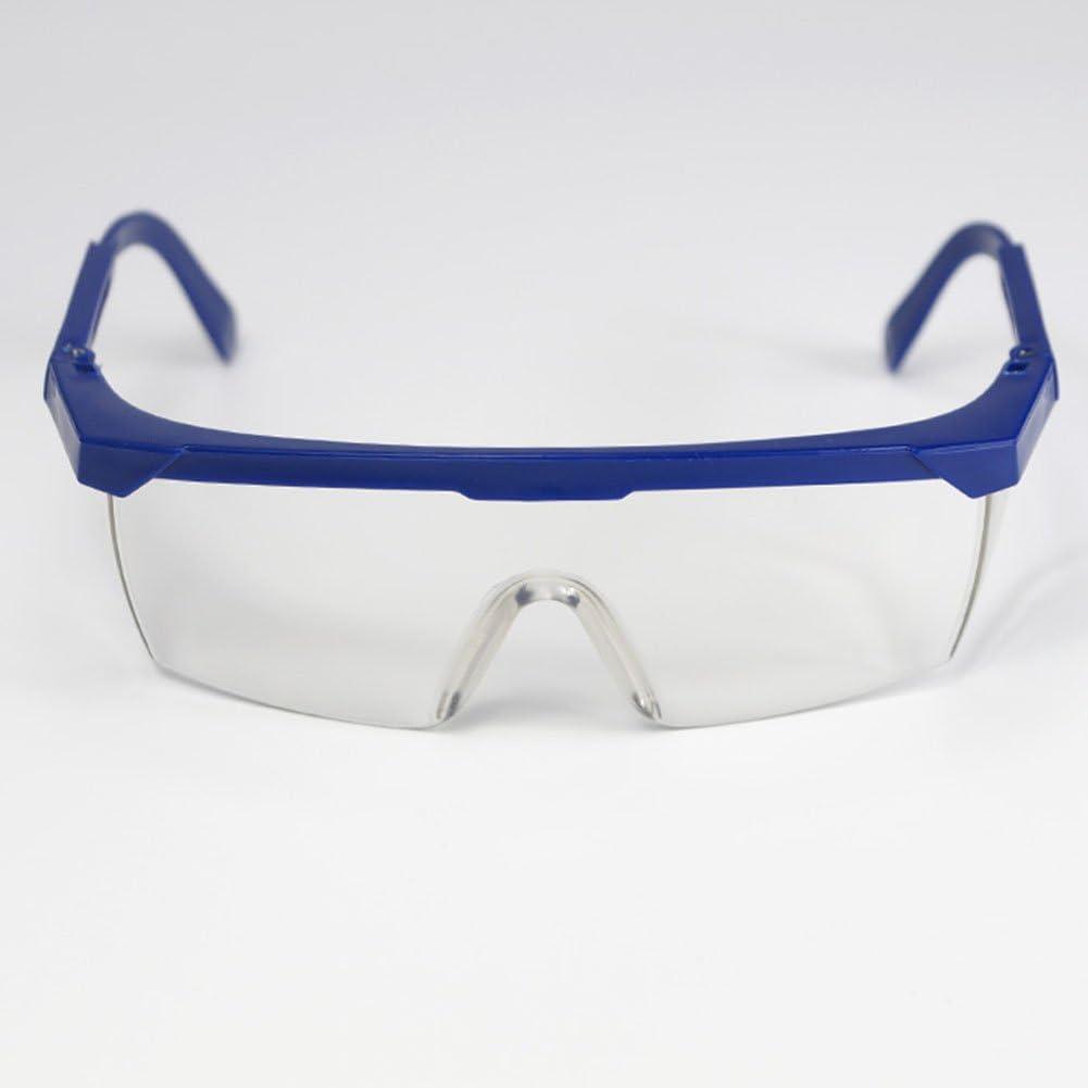 Eyes Protectior avec Monture r/églable Emp/êche Les Lunettes de bu/ée Lunettes de Protection de Travail Transparentes Yeux Coupe-Vent Nexmon Lunettes de s/écurit/é