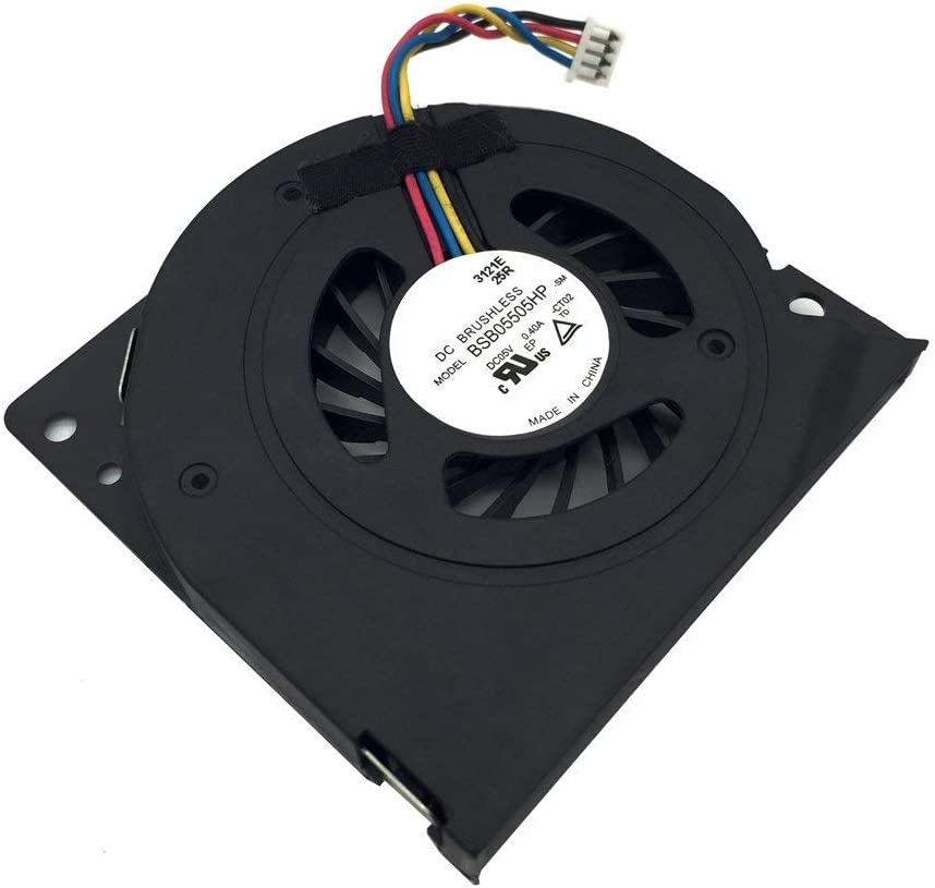 Tested Replacement CPU Cooling Fan for Lenovo S300 S500 S700 S756 B300 B305 A4980 Compatible Part Number: BSB05505HP BASA5508R5H (4 Wires)