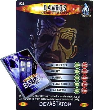 doctor who single card devastator 101 926 davros creator of the