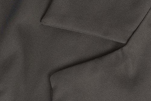 curvada de de mujer mangas Charcoal largo solapa con modesta solapa sin corbata sin diseño mangas Cinturón Chaqueta delantera con Abrigo para ZwqCOct