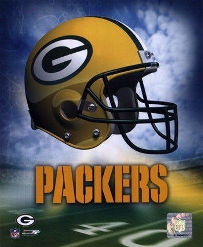 (Photo File Green Bay Packers Helmet Logo Art Poster Print 8x10)