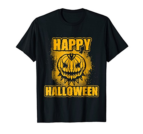 Happy Halloween Monster Pumpkin | Funny Halloween Shirt Gift