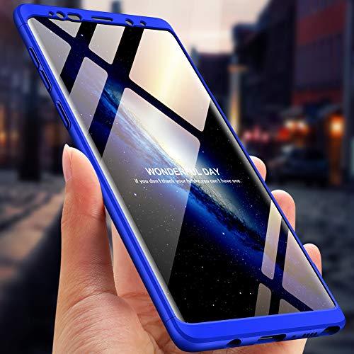 en Choc Scratch Protection Note PC Coque Galaxy Bumper Case Housse pour Intgrale Galaxy Ultra 1 Premium Note 3 9 Anti Samsung Ultra Anti Mince Lger Bleu Etui 9 360 RxXPUx