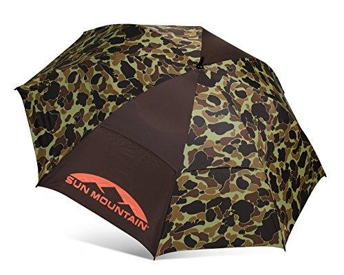 Sun Mountain Manual SMS UV Umbrella - Duck Hunt CAMO
