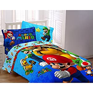 Nintendo Bed Sheets Amazon