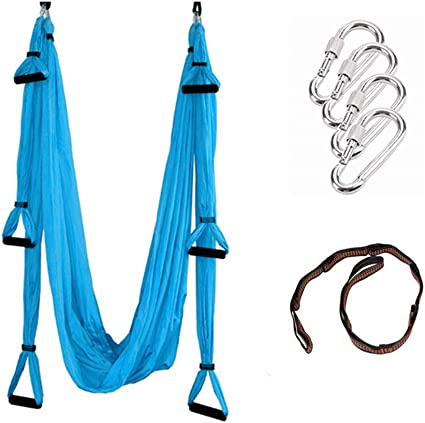 Yoga Swing Trapeze Aerial Flying Hammock Swing Home Fitness Sling Inversion Tool