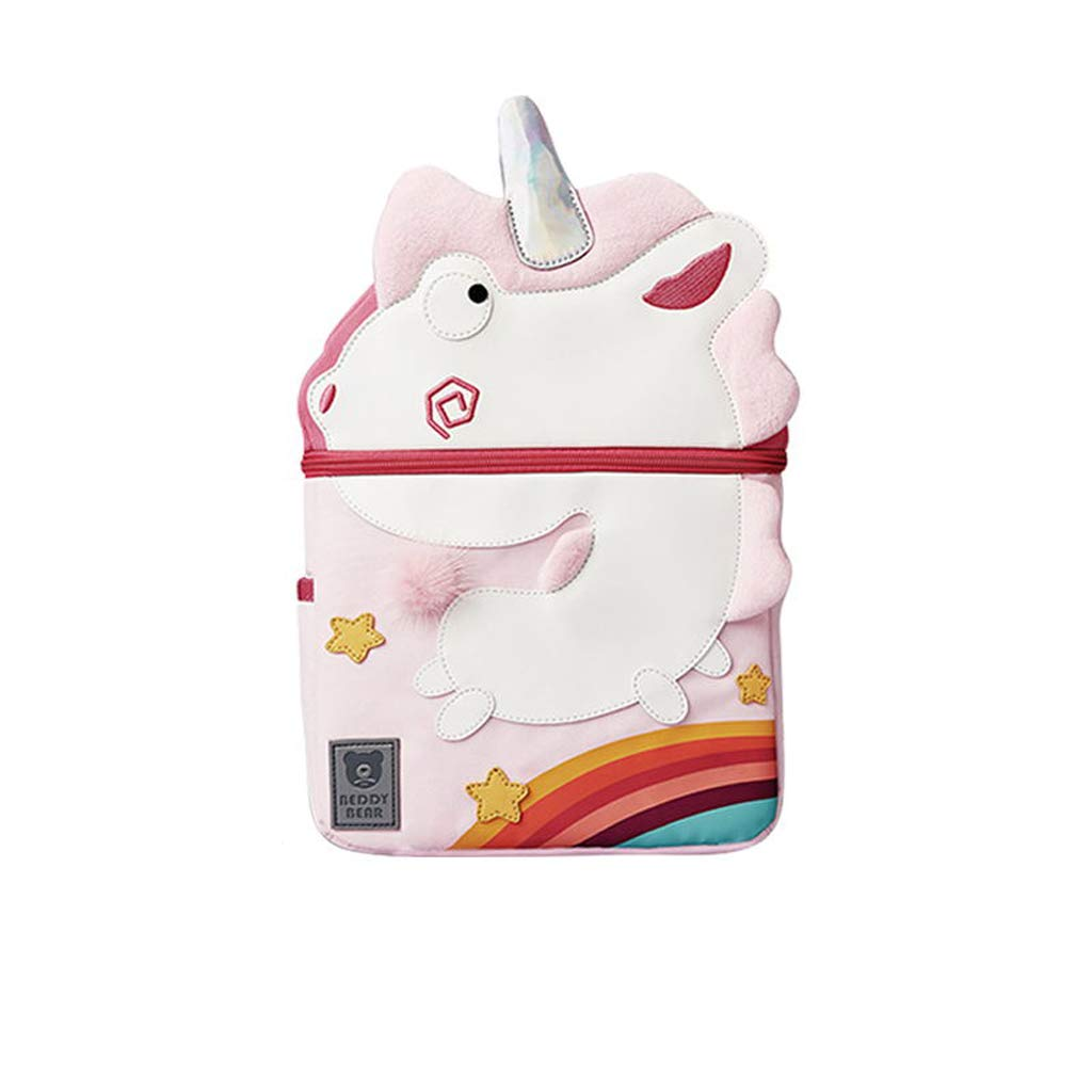 CXQ Zaino Carino per Bambini della Scuola rosa Little Unicorn Cute 38 Years Old School Zaino per Animali (Dimensione   M)