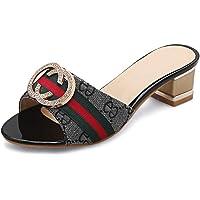 BalaMasa Womens Assorted Colors Charms Travel Urethane Slides Sandals ASL05708