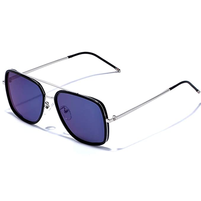 Vintage Gafas de sol Plaza para hombres mujeres Gafas de sol clasico Downey Iron Man TR90