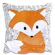Woodland Dreams Fox Pillow by The Peanut Shell