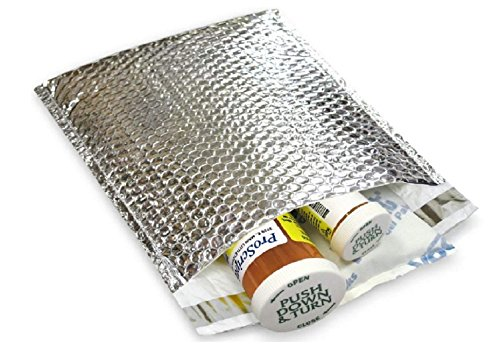 10 Pack Cool Shield Bubble Mailers 11x15. Thermal Padded envelopes 11 x 15. Large Cushion Food mailers. Peel and Seal. Thermal Shipping Bags for mailing, Packing. Packaging in Bulk, Wholesale Price. ()