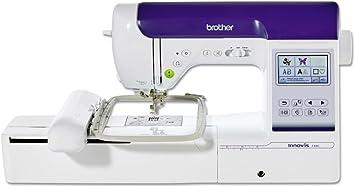 Brother Innovis F480 Máquina de Coser Y Bordar, Blanco: Amazon.es ...