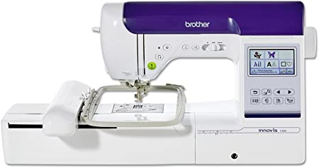 Brother Innovis F480 Máquina de Coser Y Bordar, Blanco: Amazon.es ...