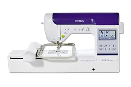 Brother Innovis F480 Máquina de Coser Y Bordar, Blanco