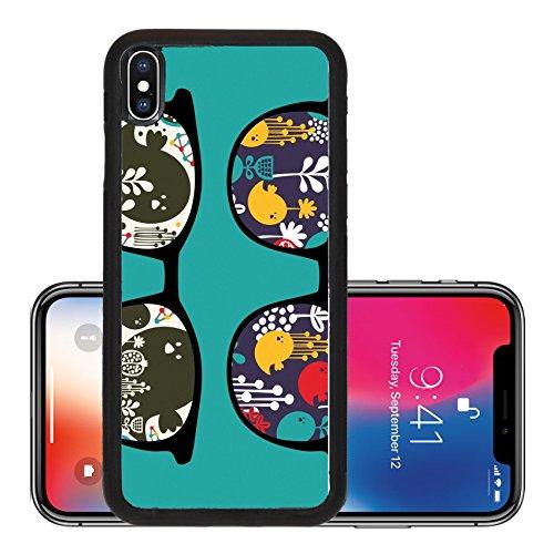 Liili Premium Apple iPhone X Aluminum Backplate Bumper Snap Case Retro sunglasses with reflection in it Photo - Retro Ebay Sunglasses