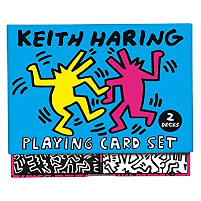 Keith Haring Playing Card Set: Toys & Games