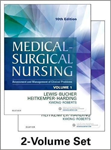 medical surgical nursing 2 volume set assessment and management