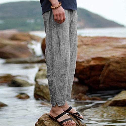 Pantalons Simple De Poche Sport Travail Imprimé Hommes De Mode Chic Pantalon De Loisirs De Survêtement De Vêtements De Mode (Color : 4Grau, Size : XL)