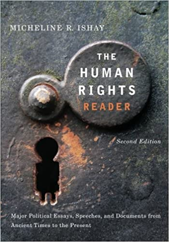 Major Political Essays Speeches and Documents From Ancient Times to the Present The Human Rights Reader