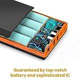EasyAcc 20000mAh Portable Charger USB C 4 Outputs