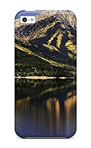 TYHde Fashionable TeCUDDc3001LcGDZ ipod Touch4 Case Cover For Lake Earth Nature Lake Protective Case ending