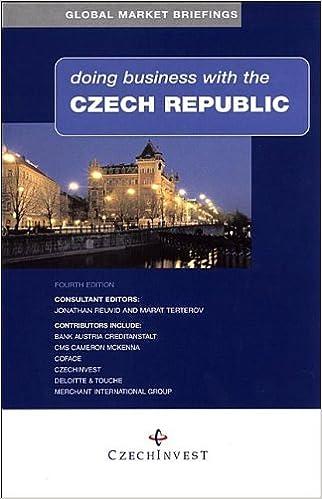 Read Doing Business with the Czech Republic PDF, azw (Kindle), ePub