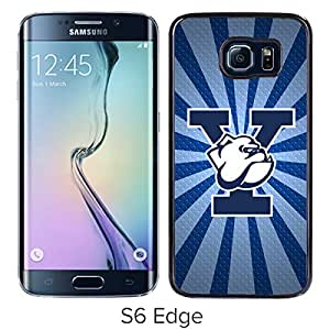 Ncaa Yale Bulldogs 10 Black Popular Custom Design Samsung Galaxy S6 Edge G9250 Phone Case