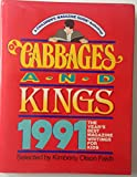img - for Of Cabbages and Kings 1991: The Year's Best Magazine Writings for Kids book / textbook / text book