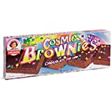Little Debbie Cosmic Brownies /Dark Fudge with Candy Coated Chocolate Chips 9oz Box by Little Debbie