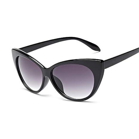 Yangjing-hl Gafas de Sol Cat Eye Gafas de Sol de Moda para ...