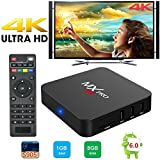 Ouguan Android TV BOX 2GB/16GB 4K Improved Version MXG Pro Android 6.0 S905X Quad Core